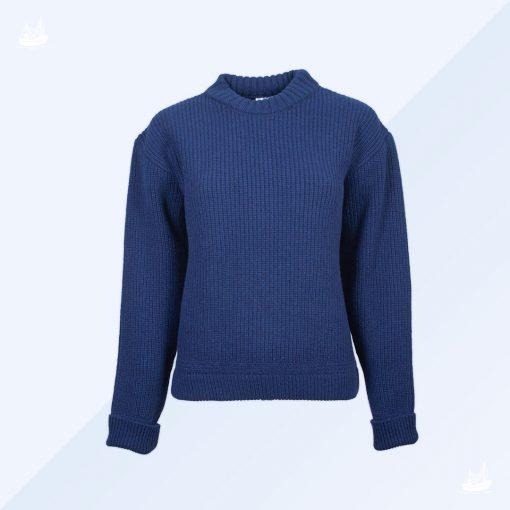 Hoodie - Uwe - Kaschmir - Marineblau