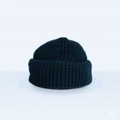 Tellermine Merinowolle - marineblau