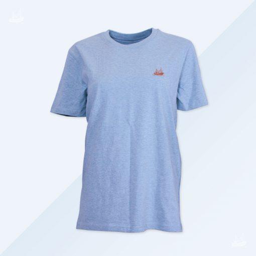 T-Shirt - Men - Eisblau