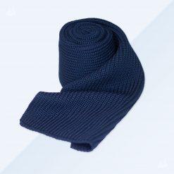 Merinoschal - Grobstrick - Marineblau