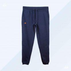 Slim Sweat Pant - Men - Marineblau