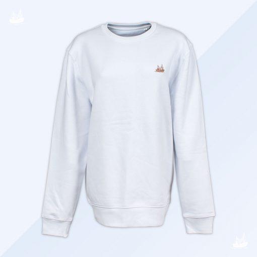 Pullover - Unisex - Weiß